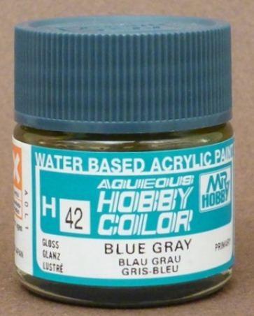 Gunze - Aqueous Hobby Colors H042 - Blue Gray (Gloss)