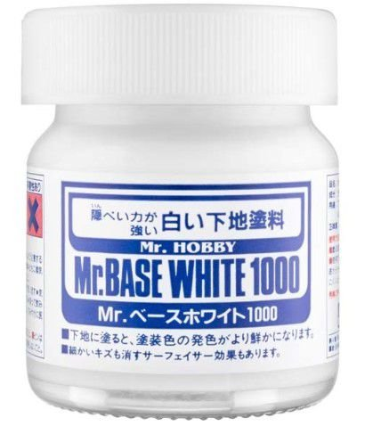 GUNZE - MR. BASE WHITE 1000 - PRIMER BRANCO