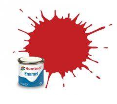 HUMBROL - ENAMEL 220 - FERRARI RED - GLOSS