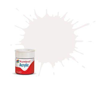 HUMBROL - ACRYLIC 022 - WHITE - GLOSS