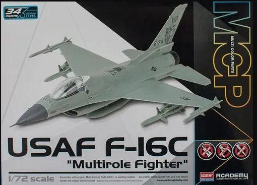 "Academy - USAF F-16C ""Multirole Fighter"" MCP - 1/72"