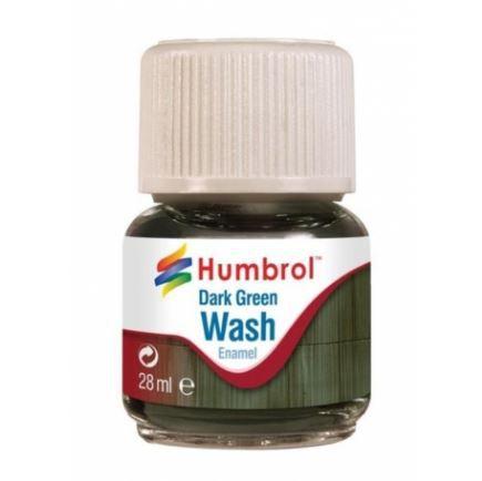 HUMBROL - ENAMEL 203 - WASH DARK GREEN