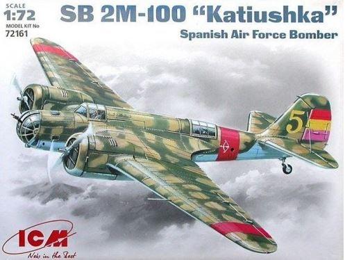 ICM - SB 2M-100 KATIUSHKA SPANISH AIRFORCE BOMBER - 1/72