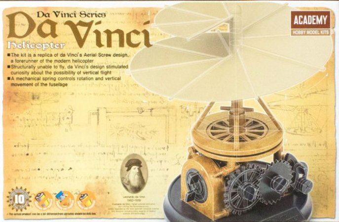 Academy - Da Vinci's Helicopter