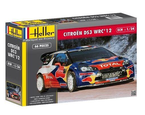 HELLER - CITROEN DS3 WRC 2012 - 1/24