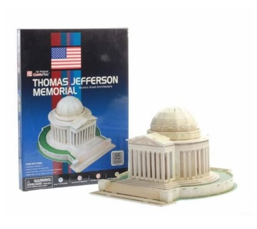 CubicFun - Thomas Jefferson Memorial - Puzzle 3D