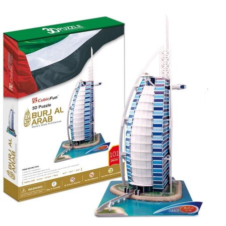 CubicFun - Burj Al Arab - Puzzle 3D