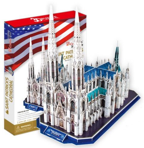 CubicFun - Saint Patrick's Cathedral - Puzzle 3D