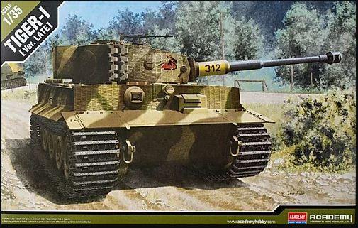 Academy - Tiger-I (Ver. Late) - 1/35