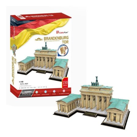CubicFun - Brandenburg Gate - Puzzle 3D