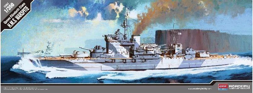 Academy - Queen Elizabeth Class H.M.S. Warspite - 1/350