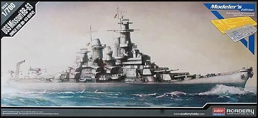 Academy - USS Missouri BB-63 (Modeler's Edition) - 1/700
