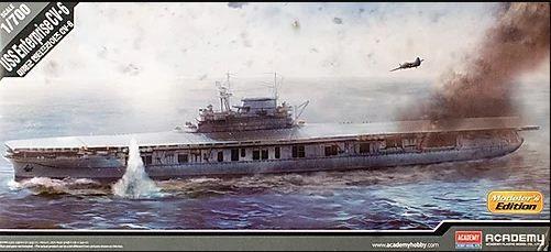 Academy - USS Enterprise CV-6 (Modeler's Edition) - 1/700
