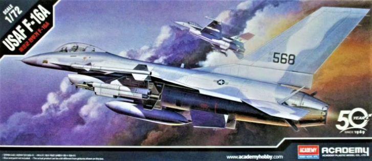 Academy - U.S. Air Force F-16A - 1/72