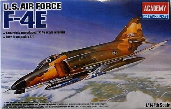 Academy - U.S. Air Force F-4E Phantom II - 1/144