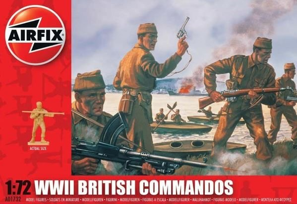 AIRFIX - WWII BRITISH COMMANDOS - 1/72