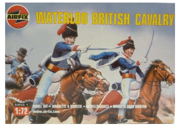 AIRFIX - BRITISH CAVALRY WATERLOO - 1/72