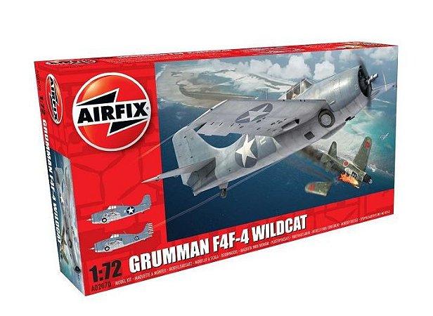 AIRFIX - GRUMMAN F4F-4 WILDCAT - 1/72