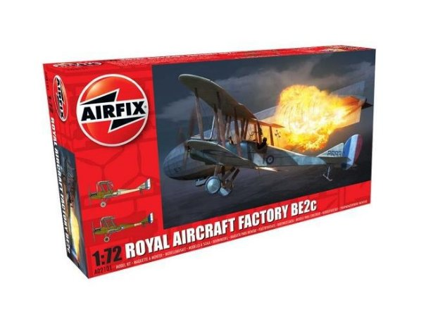 AirFix - Royal Aircraft Factory BE2c - 1/72