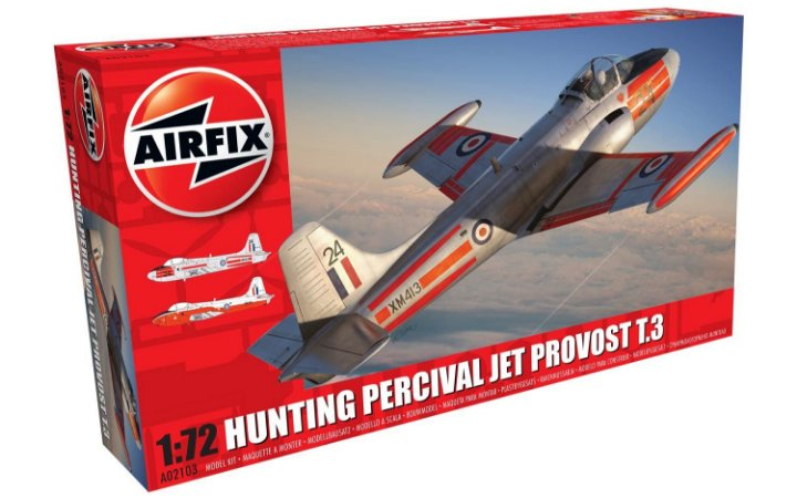 AIRFIX - HUNTING PERCIVAL JET PROVOST T.3/T3A - 1/72