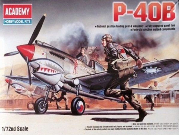 Academy - P-40B - 1/72
