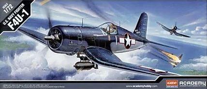 Academy - U.S. Navy Fighter F4U-1 - 1/72