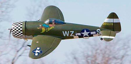 P-47 - 200 Class RTF - Elétrico - Env. 650 mm