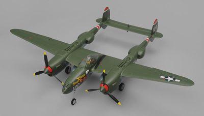 P-38 RTF - Elétrico - Env.: 800 mm