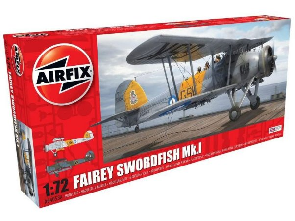 AIRFIX - FAIREY SWORDFISH MK. 1 - 1/72
