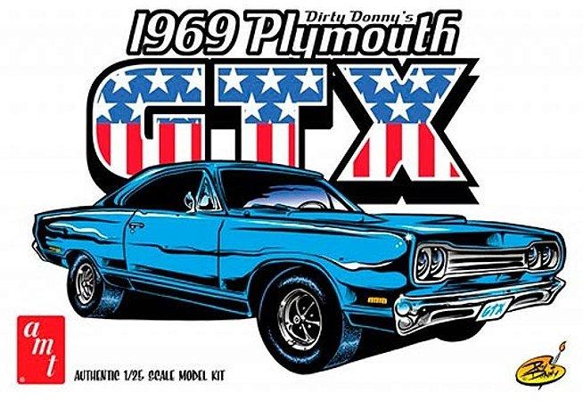Dirty Donny 1969 Plymouth GTX - 1/25 - NOVIDADE!