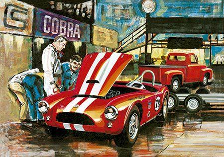 Cobra Racing Team (Shelby Cobra & Ford Pickup 1953 & Trailer) - 1/25 - NOVIDADE!