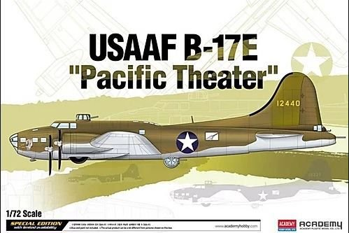 "Academy - USAAF B-17E ""Pacific Theater"" - 1/72"
