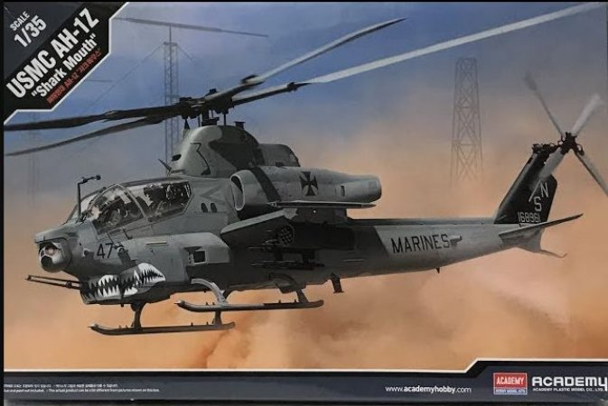 "Academy - USMC AH-1Z ""Shark Mouth"" - 1/35"