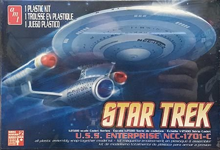 Star Trek Enterprise 1701-C - 1/2500 - NOVIDADE!