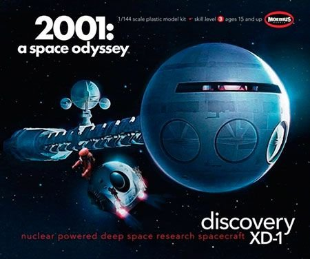 Discovery 2001 Space Odyssey - 1/144