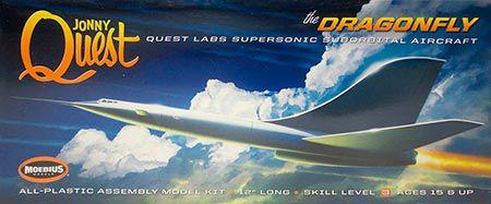 Jonny Quest Dragonfly - Sci-Fi - 1/144 - NOVIDADE!