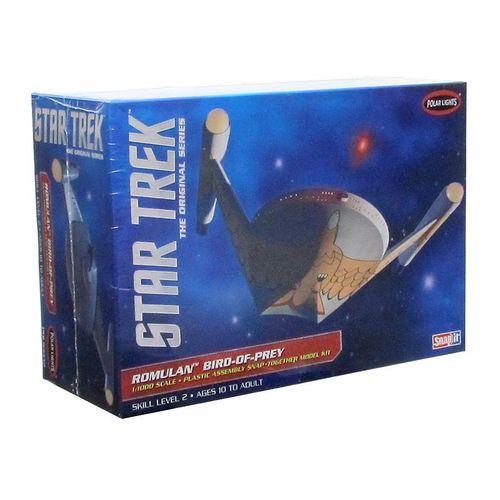 Star Trek Romulan Bird of Prey - Snap - 1/1000 - NOVIDADE!