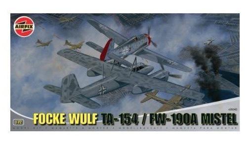 AIRFIX - FOCKE WULF MISTEL (Ta-154) + (Fw-190A) - 1/72