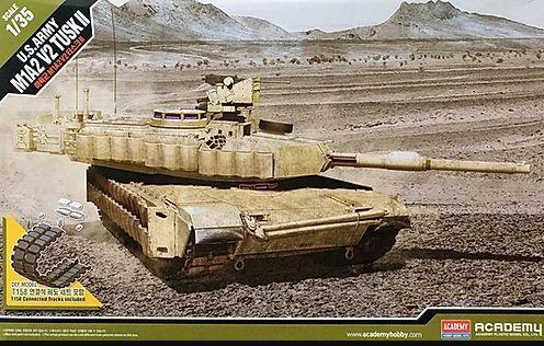 Academy - M1A2 V2 Tusk II - 1/35