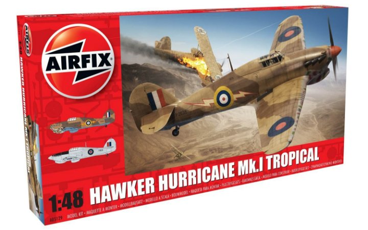 AirFix - Hawker Hurricane Mk.I Tropical - 1/48