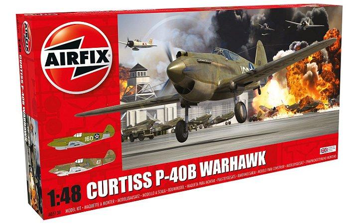 AIRFIX - P-40B - 1/48 - MOLDE NOVO