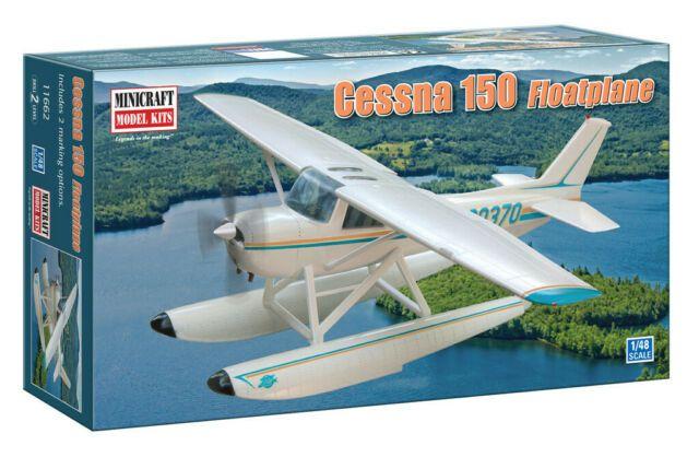 MINICRAFT - Cessna 150 Float Plane com 2 opções de decalques - 1/48