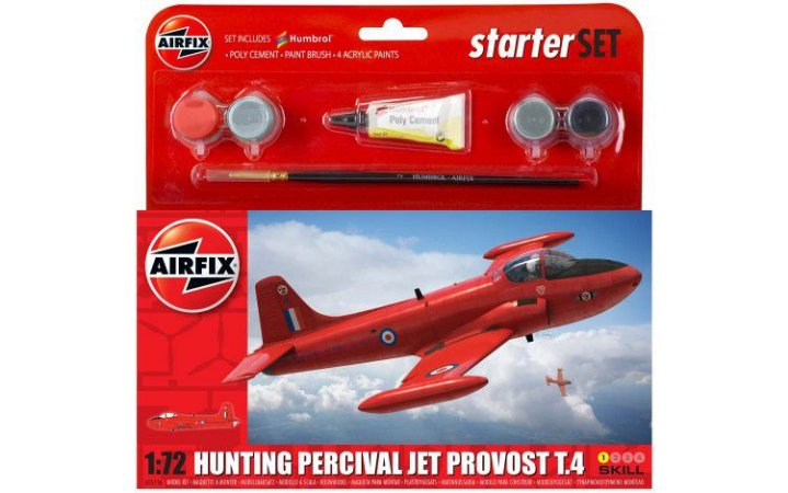 AIRFIX - HUNTING PERCIVAL JET PROVOST - 1/72