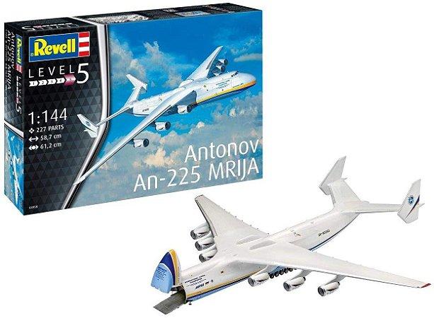 REVELL - Antonov AN-225 Mrija - 1/144 - NOVIDADE! - Modelo do Ano na Feira de Nuremberg 2019