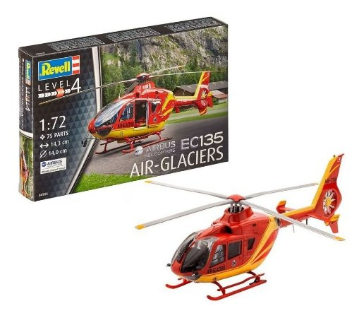 REVELL - Airbus Helicopter EC135 AIR-GLACIERS - 1/72