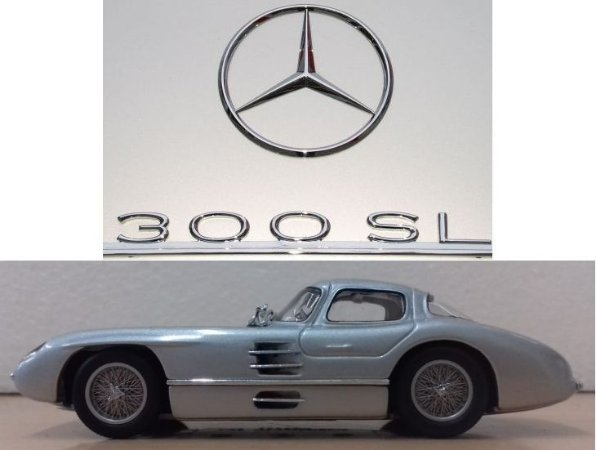 Minichamps - Mercedes-Benz 300 SLR Coupé - 1/43