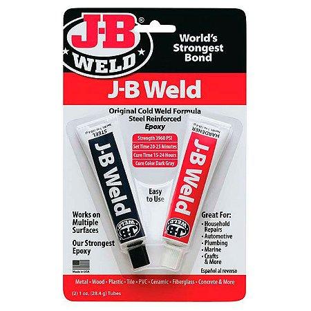 J-B WELD - Cola epóxi ultraforte J-B Weld (2x 28,4g)