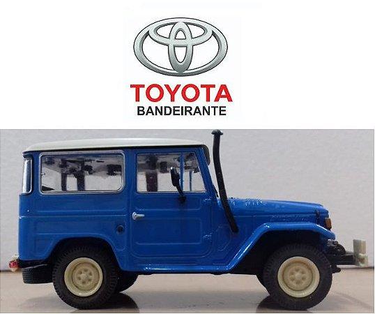 Coleção Carros Inesquecíveis do Brasil - Toyota Bandeirante 1967 - 1/43