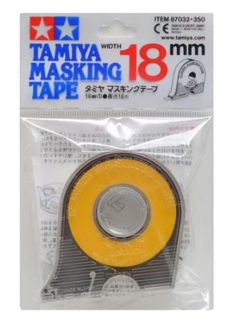 TAMIYA - MASKING TAPE 18MM - FITA P/ MASCARAR