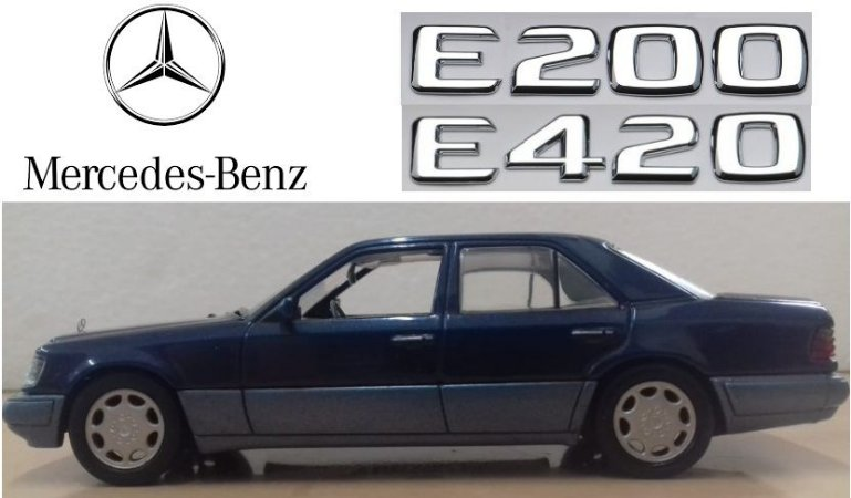 Minichamps - Mercedes-Benz E200-420 - 1/43